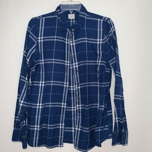 J.Crew  the perfect shirt plaid  M